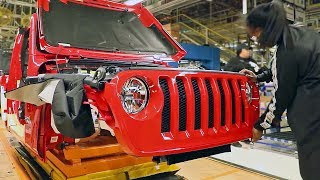2020 Jeep Wrangler JL – PRODUCTION LINE – American Car Factory