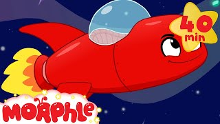 Morphle In Space - My Magic Pet Morphle | Cartoons For Kids | Morphle TV | Mila and Morphle