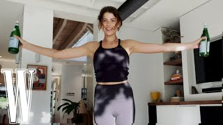 The Best At-Home Arm Workout #WithMe Georgia Fowler   W Magazine