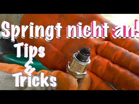 Rasenmäher springt nicht an - TIPS & TRICKS