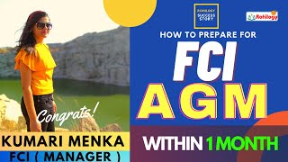 FCI AGM | HOW TO PREPARE FOR FCI AGM |SUCCESS STORY |KUMARI MENKA |FCI MANAGER |ROHILOGY|FCI|