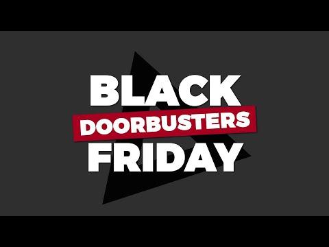 Black Friday Doorbuster Deals - 2019