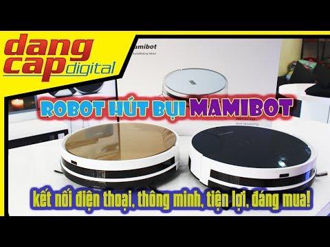 Dangcapdigital.vn - Robot hút bụi MAIMIBOT PREVAC650 || Kết nối điện thoại, tiện lợi, đáng mua!!