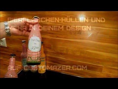 Bierflaschen-Etiketten aufschrumpfen | customazer.com