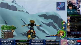 Kingdom Hearts HD 2.5 (PS4) - Platinum Trophy RTA (12:12:54, Part 2)