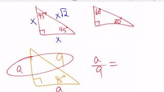 Q.4 Help - Special Right Triangles - Video #2