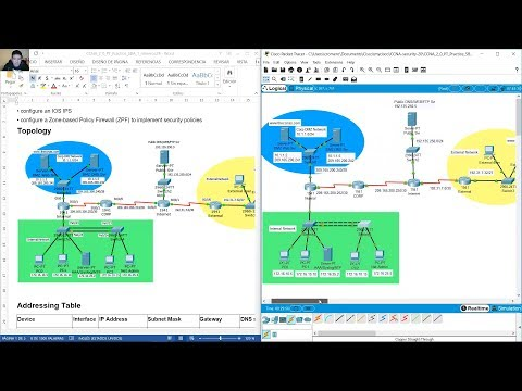 CCNA Security 2.0 - Packet Tracer Skills Assesement 1 - YouTube