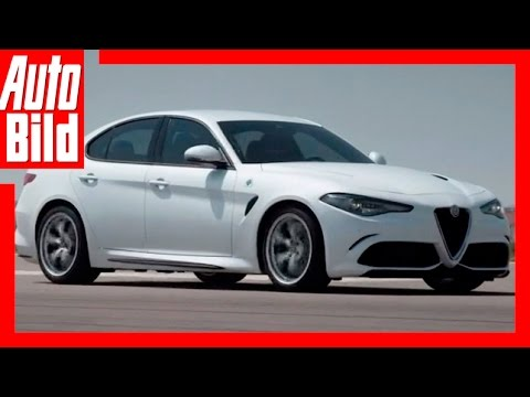 Impressionen: Alfa Romeo Giulia / 2016 / Stärkste Giulia aller Zeiten / Review / Probefahrt