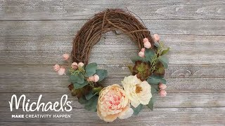 Easy Spring Floral Wreath | Michaels