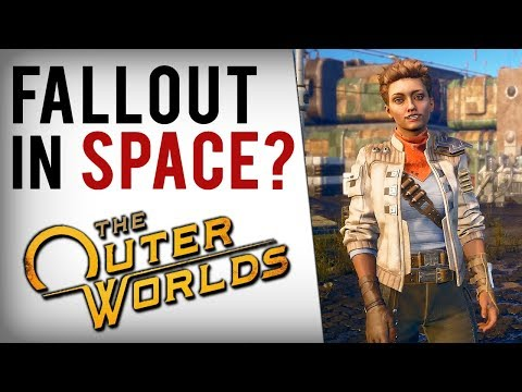 The Outer Worlds – Obsidian's Fallout Space RPG! (Trailer Breakdown & New Gameplay Images!)