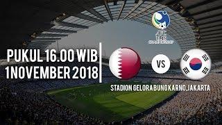 Jadwal Siaran Qatar U-19 Vs Korea Selatan U-19, Kamis (01/11/2018) Pukul 16.00 WIB