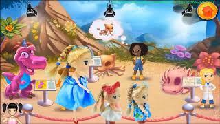 BabyBus - Tiki Mimi và trò chơi tạo mô hình khủng long từ những bộ xương