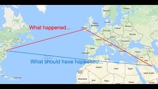 Tale of Two Flights (A Flat Earth Discussion)