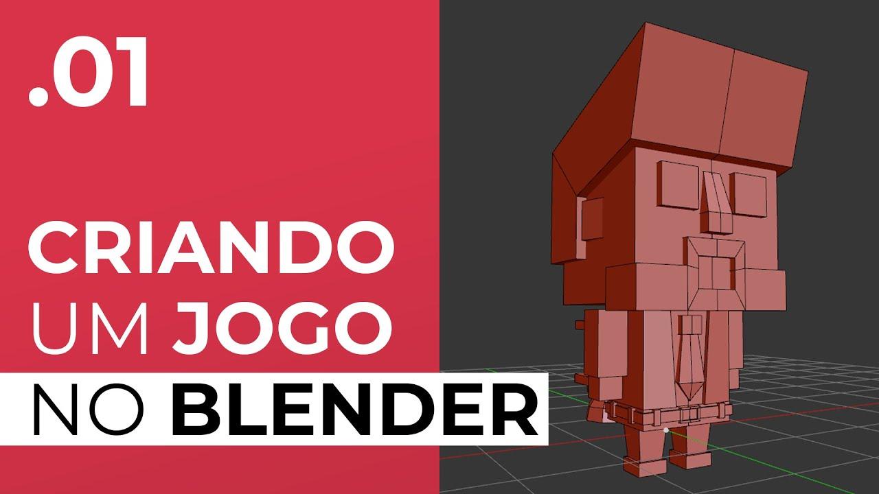 Modelando o Personagem - Curso Up Blender Game Engine [EP01]