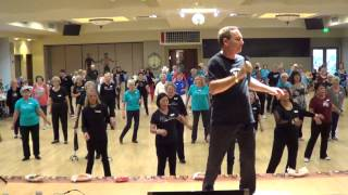 CUMBIA SEMANA Line Dance @ 2013 MESA AZ. WORKSHOP