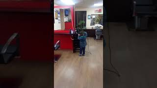 Томск Он мой сын будущий мастер парикмахер