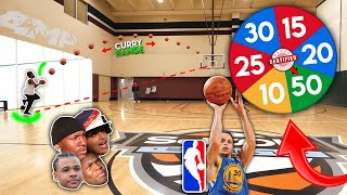 AMP STEPHEN CURRY 3 POINT CHALLENGE