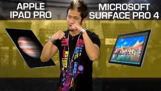 iPad Pro vs. Surface Pro 4 (CNET Prizefight)