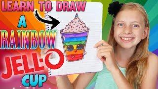 Cute Jello Cup ⭐️ || Art with Alyssa