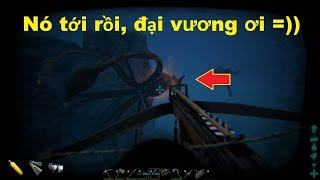 ARK: Survival Evolved #44 - Đi bắt Mosasaurus, gặp Bạch tuộc khổng lồ Tusoteuthis =))