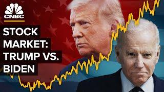 Is President Donald Trump Or Joe Biden Better For The Stock Market?
