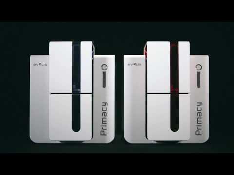 Evolis PRIMACY Single or Dual Side Card Printer video thumbnail