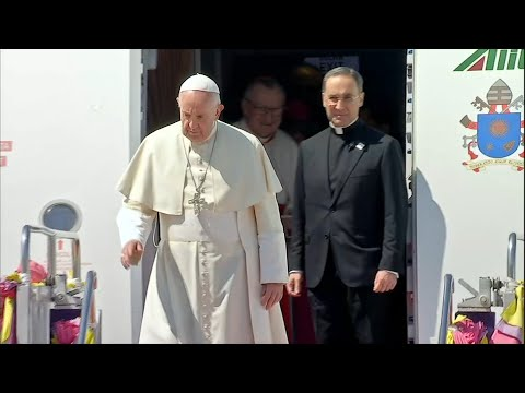 Pope lands in Thailand, start of two-country Asian tour | AFP