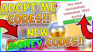 roblox adopt me codes for money 2019 - TH-Clip