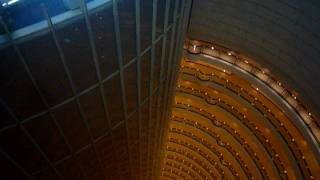 preview picture of video 'Shanghai's Grand Hyatt lobby below'
