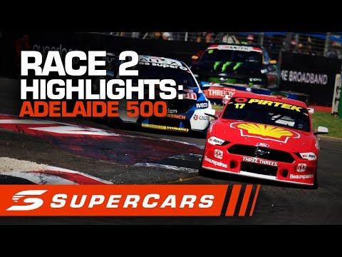2020年SUPERCARS 第1戦 スーパーループアデレード500 決勝レース2 ハイライト動画