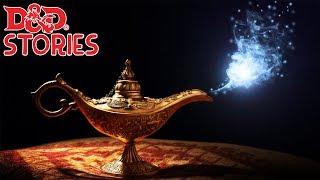 Djinni of the Lamp - r/DnDGreentext Stories