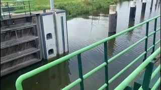 Hoogwater sluis Waalwijk