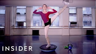 The Extreme Workout Regimen Of A Professional Ballerina