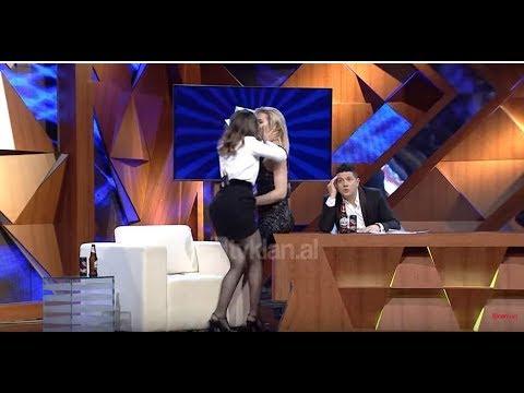 """Xing me Ermalin/ """"Ti me pelqen shume"""", Elvana Gjata puth 'live' Kejvina Kthellen (17.02.2018)"""