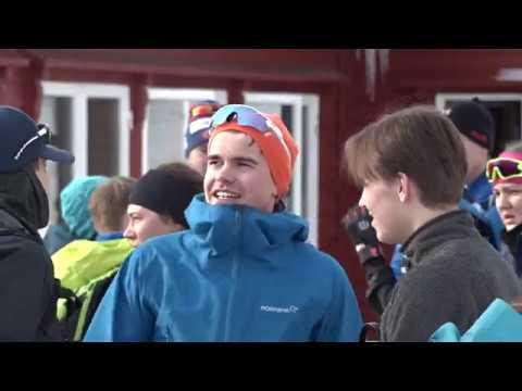 Folkefest i skibakken