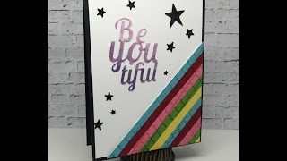 Use your scraps to create a card