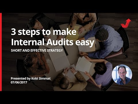 Make your Internal Audits short and effective with these 3 steps ...