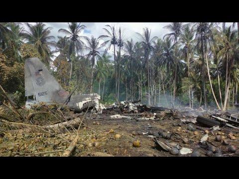 Φιλιππίνες: Συντριβή στρατιωτικού αεροσκάφους