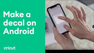 Cricut Joy™ - Android Decal