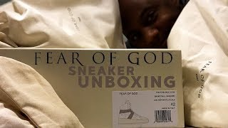 Unboxing the $1,195 Fear of God Sneakers