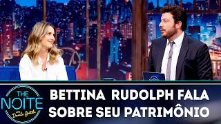 Bettina Rudolph fala sobre seu patrimônio   The Noite (18/03/19)