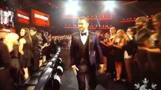 American Music Award 2013   Justin Timberlake wins SoulRB Album Award