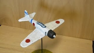 Scratch building a Mitsubishi A6M 'Zero' for bolt action