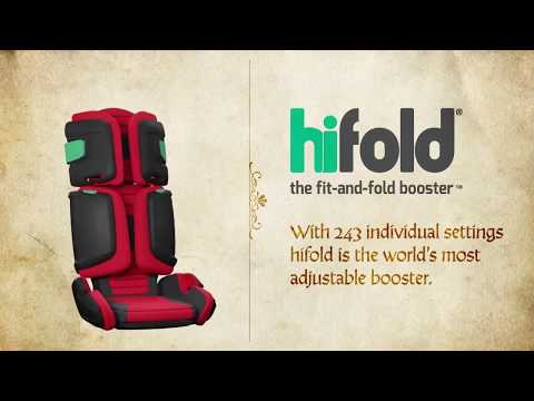Hifold Автокресло Racing Red