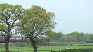 preview picture of video '46233 Hurries towards Chester on the Welsh Dragon 19th May 2012'