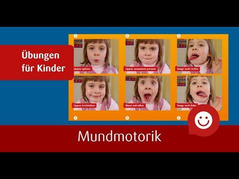 Sprachförderung - Mundmotorik Übungen mit Leonie