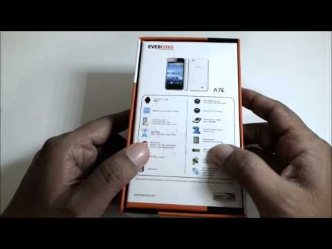 Unboxing Evercoss A7E