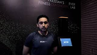 Omar Khan from Red Bull can't hide his excitement as he shares the results of his Fit3D Test.