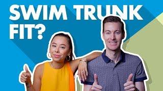 How Should Men's Swim Trunks Fit? Bathing suit advice for men.