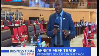 Business Today - 22nd March 2018: Africa creates one of the biggest Free Trade Blocks in the world